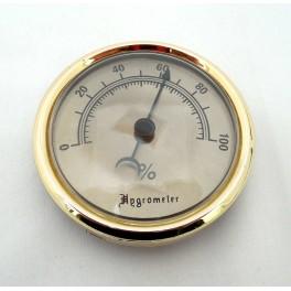 Hygromètre analogique pour vitrine à cigare