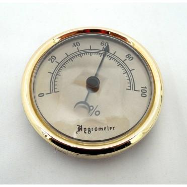 Hygromètre analogique pour vitrine à cigares