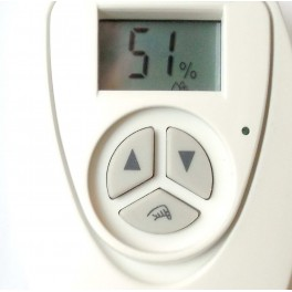 Hygrostat pilote d'humidificateur à cigare