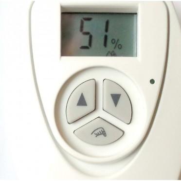 Hygrostat pilote d'humidificateur Cèdre & Cuir