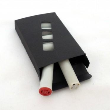 6 Filtres dia. 9mm. (pour pipe, fume cigare, cigarette)