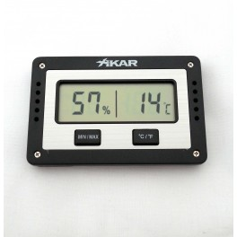 Hygromètre cigare digital XIKAR extra plat 833