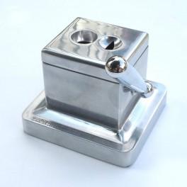 Coupe cigare de bureau coupe en Vé & Droite aluminium poli