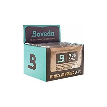 Boveda 60g - cube 12 sachets  72%