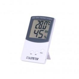 Thermo-Hygromètre pour vitrine à cigare