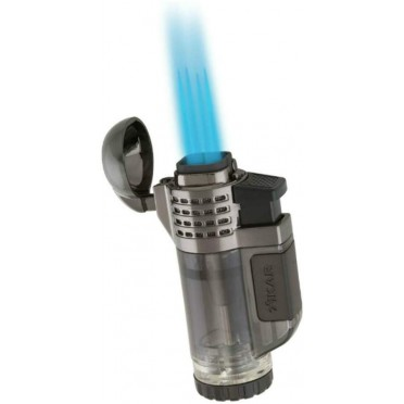 Briquet XIKAR 4 torches 528 TECH