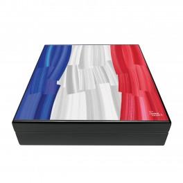 cave 15 cigares drapeau francais