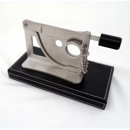 Coupe cigare de bureau en acier brossé