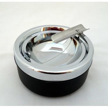 Cendrier cigare en métal avec trappe d'évacuation
